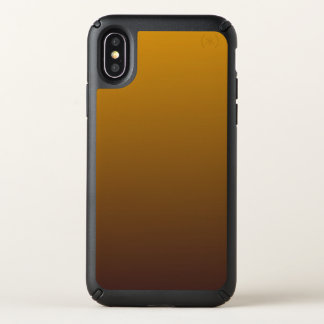 Spicy Gold Brown Ombre Speck iPhone X Case
