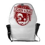 Spicy Horse Messenger Bag - Light