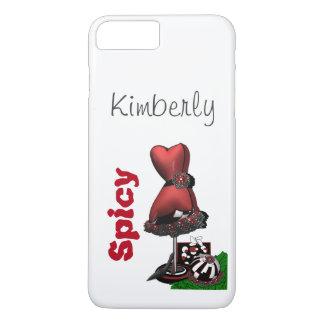 """""""Spicy"""" hot iPhone 7 plus case"""