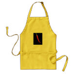 Spicy hot red pepper aprons