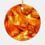 Spicy Hot Wings Christmas Tree Ornaments