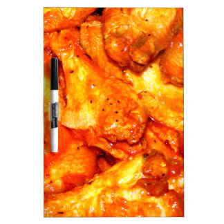 Spicy Hot Wings Dry Erase Whiteboard