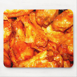 Spicy Hot Wings Mouse Pad