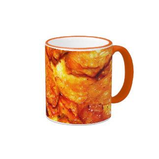Spicy Hot Wings Ringer Coffee Mug