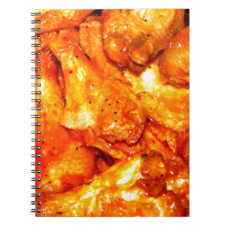 Spicy Hot Wings Note Books