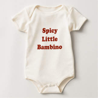 Spicy Little Bambino Funny Italian T-Shirt