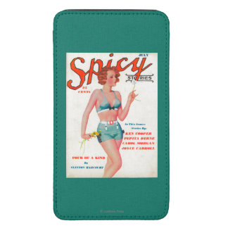 Spicy Magazine Cover Galaxy S5 Pouch