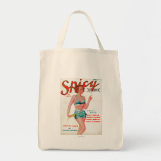 Spicy Magazine Cover Tote Bag
