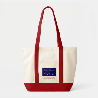 Spicy Moves Accent Tote