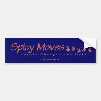 Spicy Moves Bumper Sticker