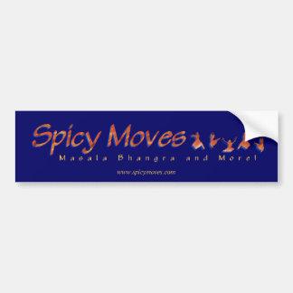 Spicy Moves Bumper Sticker Car Bumper Sticker
