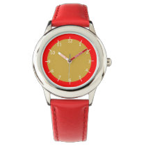 Spicy Mustard and Ketchup Wrist Watch