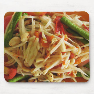 Spicy Papaya Salad [Som Tam] Mouse Pad