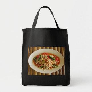 Spicy Papaya Salad [Som Tam] Photo Tote Bag