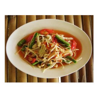 Spicy Papaya Salad [Som Tam] Post Cards