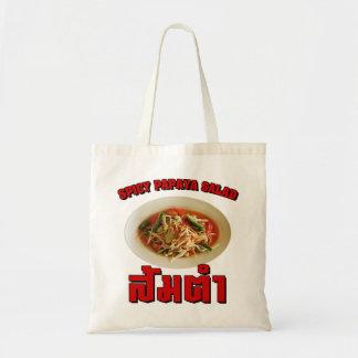 Spicy Papaya Salad [Som Tam] ... Thai Lao Food Tote Bag