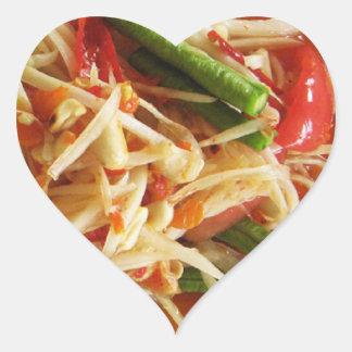 Spicy Papaya Salad [Som Tam] ... Thai Street Food Stickers