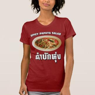 Spicy Papaya Salad Tam Mak Hung Isaan Dialect Shirts