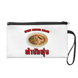 Spicy Papaya Salad [Tam Mak Hung] Isaan Dialect Wristlet