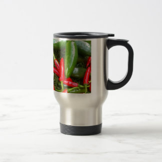 Spicy Peppers Travel Mug