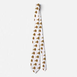 Spicy Pizza Slice Neck Tie