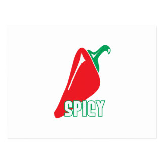 Spicy Postcard