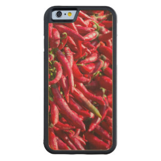 Spicy Red Chili In The Town Of Kalocsa Carved Maple iPhone 6 Bumper Case