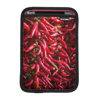 Spicy Red Chili In The Town Of Kalocsa iPad Mini Sleeves