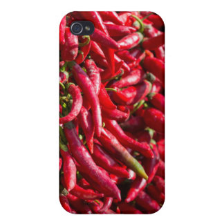Spicy Red Chili In The Town Of Kalocsa iPhone 4 Case
