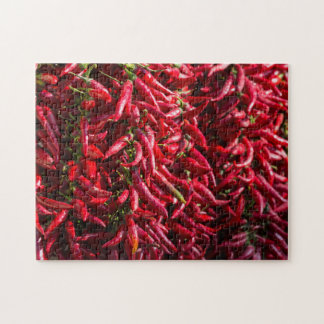 Spicy Red Chili In The Town Of Kalocsa Jigsaw Puzzle
