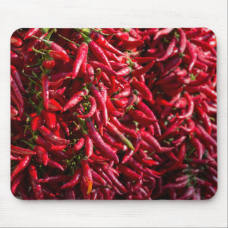 Spicy Red Chili In The Town Of Kalocsa Mousepads