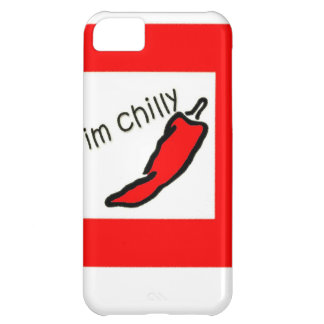 spicy red chilly case for iPhone 5C