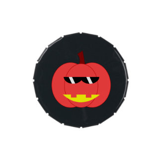 Spicy Red Jack-o'-Lantern Jelly Belly Tin