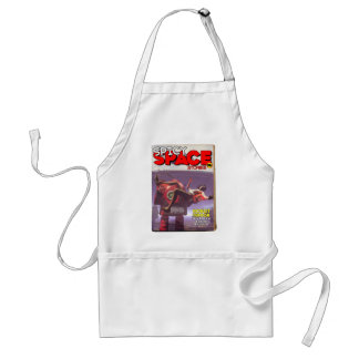 Spicy Space Stories Fake Pulp Cover Apron
