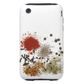 Spicy spices foodie top chef food photo iPhone 3 tough case