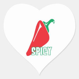 Spicy Heart Sticker