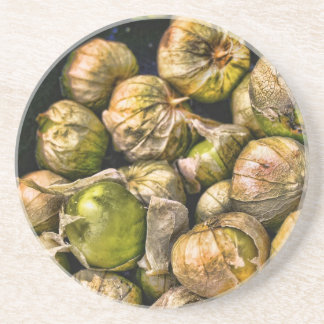 Spicy Tomatillos Drink Coaster