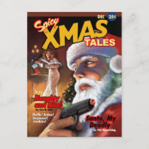 Spicy Xmas Tales Postcard