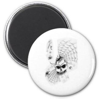 spider 2 inch round magnet