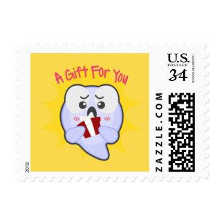 Spider Adventure Postcard Stamp