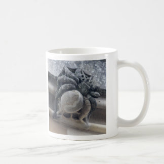 Spider and dung beetle grotesques mug