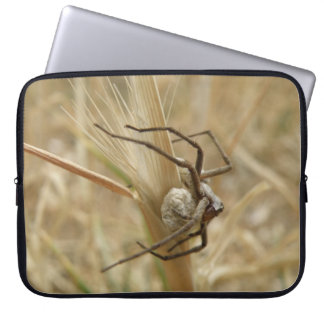Spider and Egg Sac Laptop Bag