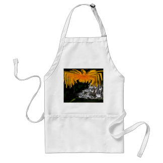 Spider and the Thistle Adult Apron