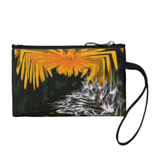 Spider and the Thistle Coin Purse