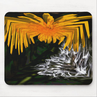 Spider and the Thistle Mouse Pad