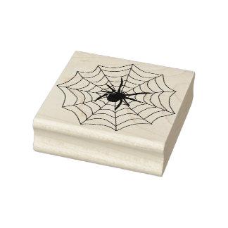 Spider and web 2 illustration art stamp