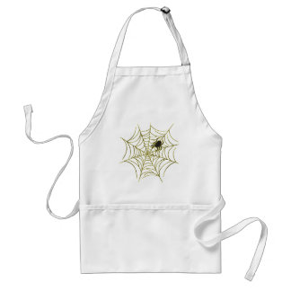 Spider and Web Adult Apron