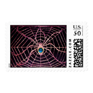 SPIDER AND WEB Blue Sapphire Black Postage