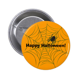 Spider and Web Button