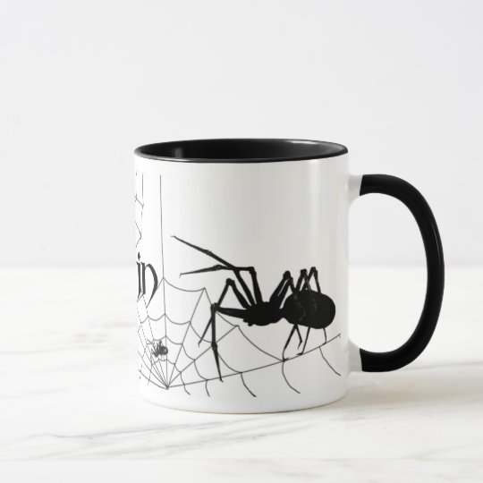 Spider and web mug Martijn